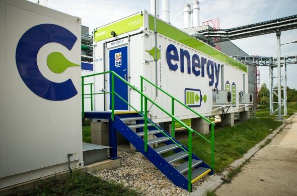 Bateriové úložiště C-Energy Planá